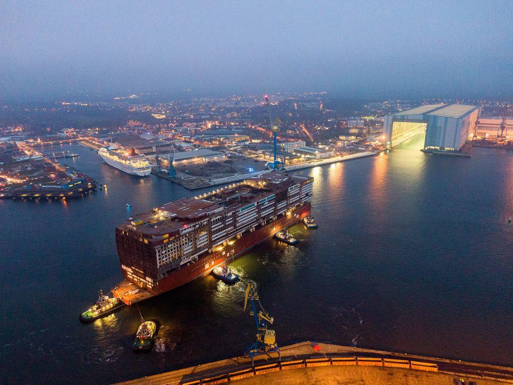 Kreuzfahrtschiffe Wismar 2021